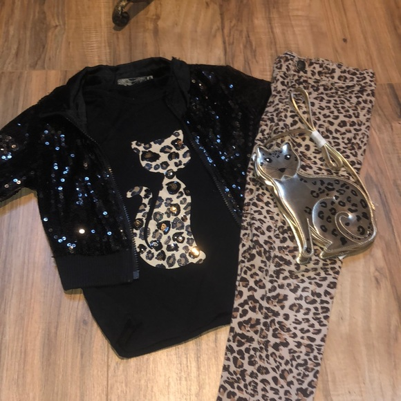 2180f3e92 Children's Place Matching Sets | Diva Cheetah 4 Pc Set By Childs ...